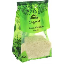 Suma Prepacks Organic Ground Almonds - 125g