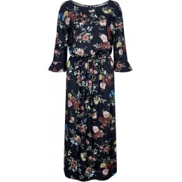 Komodo Rayn Midi Dress - Ive Floral Print