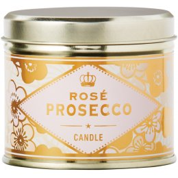 The Bath House Scented Soy Candle - Rose Prosecco
