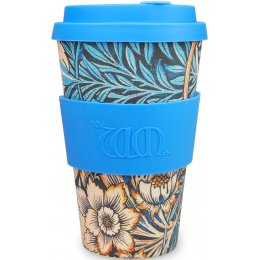 William Morris Organic Bamboo Coffee Cup - Lily