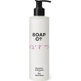 The Soap Co Geranium & Rhubarb Eco Hand Wash - 300ml