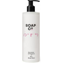 The Soap Co Geranium & Rhubarb Eco Body Wash - 400ml