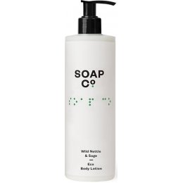The Soap Co Wild Nettle & Sage Eco Body Lotion - 400ml