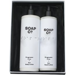The Soap Co Fragrance Free Gift Set Duo