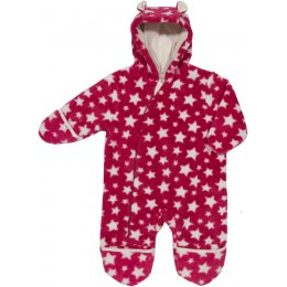 Kite Star Fleece All-In-One - Berry