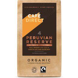 Cafedirect Organic Peruvian Reserve Ground Coffee - 227g