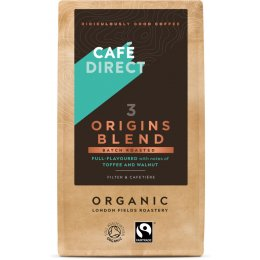 Cafedirect Organic Origins Blend Ground Coffee - 227g