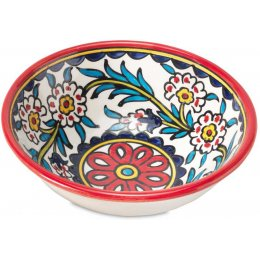 Hand Painted Floral Bowl