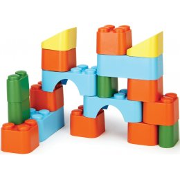Green Toys Recycled Toy Block Set