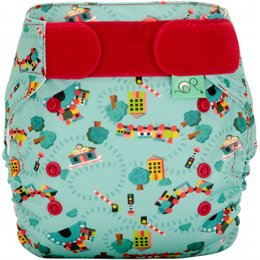 Easyfit Star Print Reusable Nappy - Choo Choo