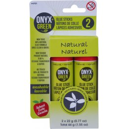 Onyx & Green Plant Based Glue Sticks - Pack of 2