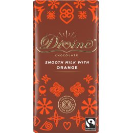 Divine Orange Milk Chocolate - 90g