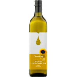 Clearspring Organic Sunflower Oil - 1 litre