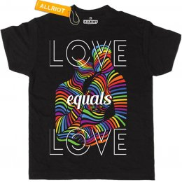 All Riot Love is Love Gender Neutral Organic T-Shirt