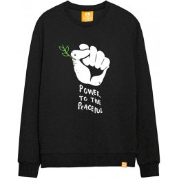 All Riot Power to the Peaceful Sweatshirt