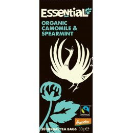 Essential Trading Organic Camomile & Spearmint Tea - 20 bags