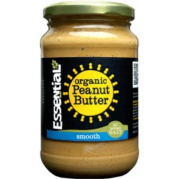Essential Trading Smooth Peanut Butter - No Added Salt - 350g