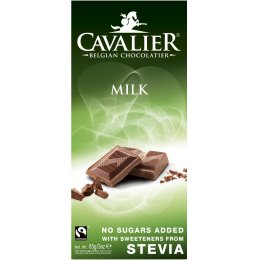Cavalier Belgian Milk Chocolate 85g
