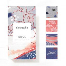 Thought Womens Sashiko Socks Gift Box
