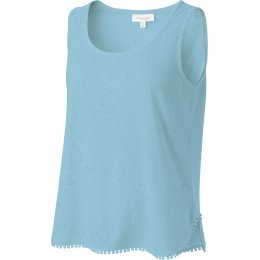 Thought Helina Vest Top - Lagoon Blue