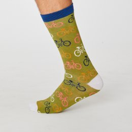 Thought Mens Bamboo Cycler Socks