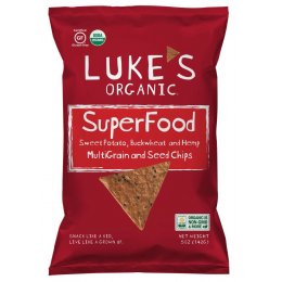 Lukes Superfood Sweet Potato Buckwheat & Hemp Chips - 142g