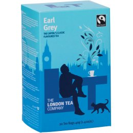 London Tea Company Fairtrade Earl Grey Tea - 20 bags