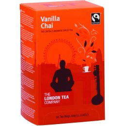 London Tea Company Fairtrade Vanilla Chai Tea - 20 bags