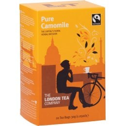 London Tea Company Fairtrade Pure Camomile Tea - 20 bags