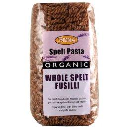 Biona Spelt Organic Fusili - 500g