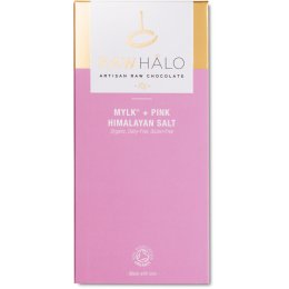 Raw Halo Mylk & Pink Himalayan Salt Bar - 70g