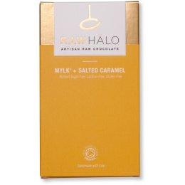 Raw Halo Mylk & Salted Caramel Bar - 35g
