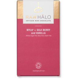 Raw Halo Mylk & Goji Berry & Vanilla Bar - 35g