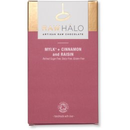 Raw Halo Mylk, Cinnamon & Raisin Bar - 35g