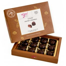 Enjoy Raw Chocolate Vegan Salted Caramels - Box of 12