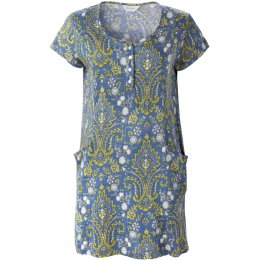 Nomads Organic Cotton Henley Tunic Dress
