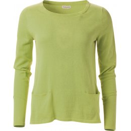 Nomads Organic Cotton Pocket Jumper - Apple