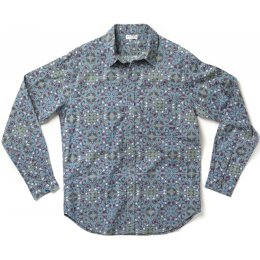 Nomads Long Sleeve Tolcarne Shirt - Flint