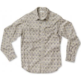 Nomads Long Sleeve Filigree Shirt - Smoke