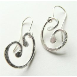 LA Jewellery My Ray of Sunshine Recycled Silver Earrings