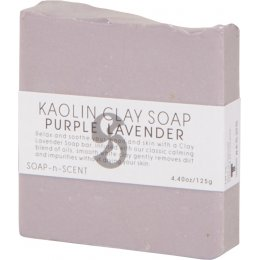 Kaolin Clay Soap 125g - Purple Lavender