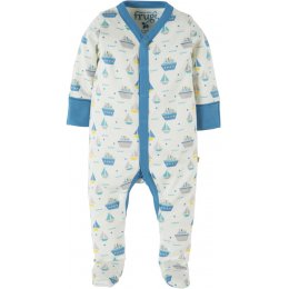 Frugi Darling Babygrow - Summer Seas