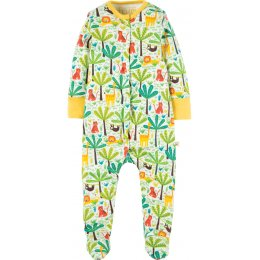 Frugi Safari Jungle Lovely Babygrow