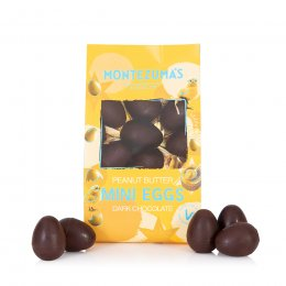 Montezumas Dark Chocolate Peanut Butter Mini Eggs - 150g