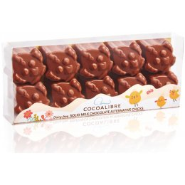 Cocoa Libre Rice Milk Chocolate Easter Chicks - 100g