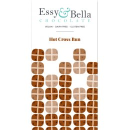 Essy & Bella Hot Cross Bun Chocolate Bar - 100g