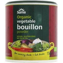 Suma Organic Vegetable Bouillon Powder - 150g