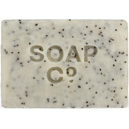 The Soap Co Classic Black Poppy & Wild Fig Soap Bar - 125g