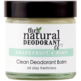 Natural Deodorant Co Clean Deodorant Balm - Grapefruit & Mint - 60ml
