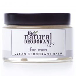 Natural Deodorant Co Clean Deodorant Balm For Men - 55g